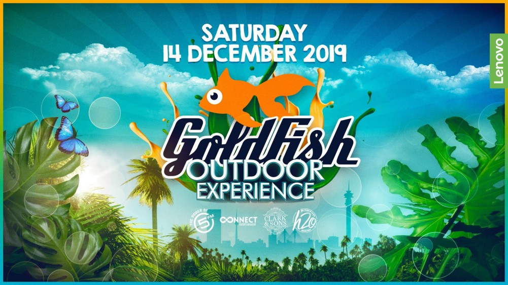 Lenovo presents The Goldfish Outdoor Experience powered by 5FM Event Poster - MegaDose Ltd