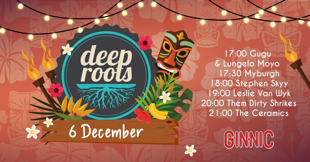 DeepRoots Night Market Event Poster - MegaDose Ltd